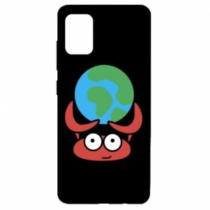 Samsung A51 Case I hold the world!