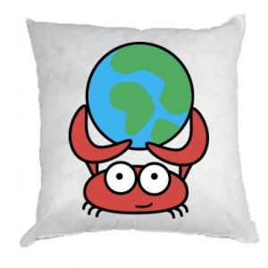 Pillow I hold the world!