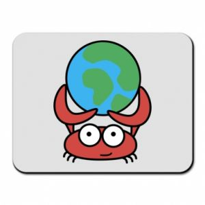 Mouse pad I hold the world!