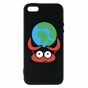Phone case for iPhone 5/5S/SE I hold the world!
