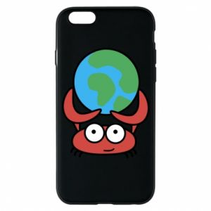 Phone case for iPhone 6/6S I hold the world!
