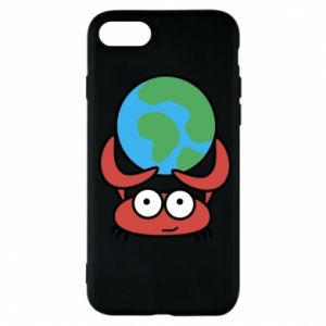Phone case for iPhone 7 I hold the world!