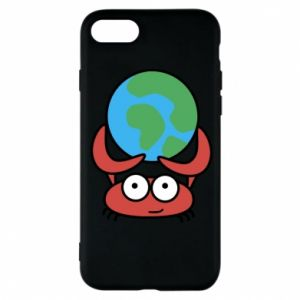 Phone case for iPhone 8 I hold the world!