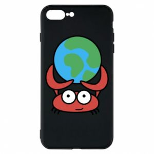 Phone case for iPhone 8 Plus I hold the world!
