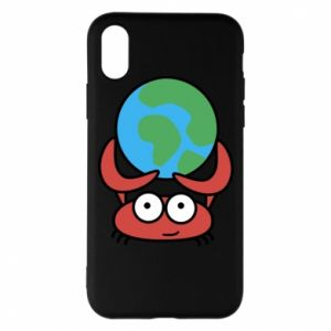Phone case for iPhone X/Xs I hold the world!