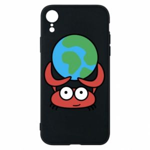 Phone case for iPhone XR I hold the world!