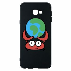 Phone case for Samsung J4 Plus 2018 I hold the world!