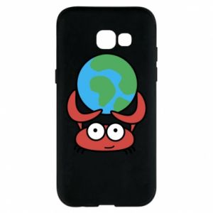 Phone case for Samsung A5 2017 I hold the world!