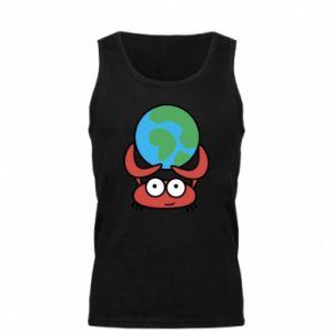 Męska koszulka Trzymam świat!
