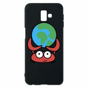Phone case for Samsung J6 Plus 2018 I hold the world!