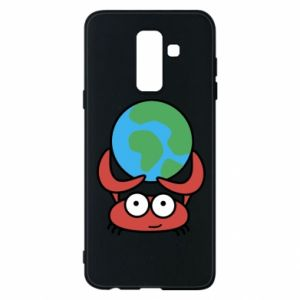 Phone case for Samsung A6+ 2018 I hold the world!