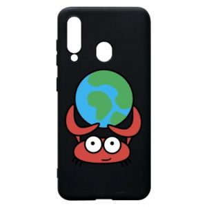 Phone case for Samsung A60 I hold the world!