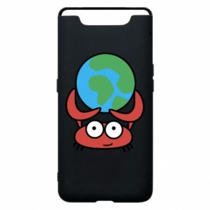 Phone case for Samsung A80 I hold the world!