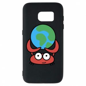 Phone case for Samsung S7 I hold the world!