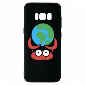 Phone case for Samsung S8 I hold the world!