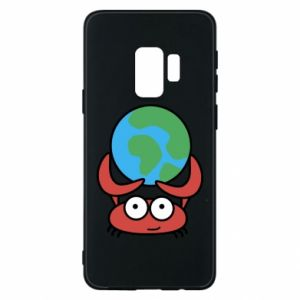 Phone case for Samsung S9 I hold the world!