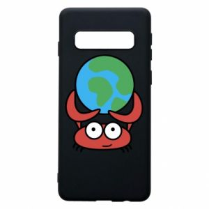 Phone case for Samsung S10 I hold the world!