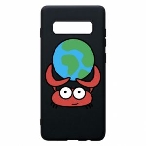 Phone case for Samsung S10+ I hold the world!