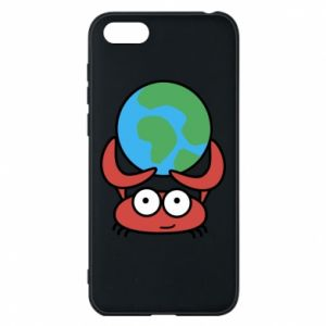 Phone case for Huawei Y5 2018 I hold the world!