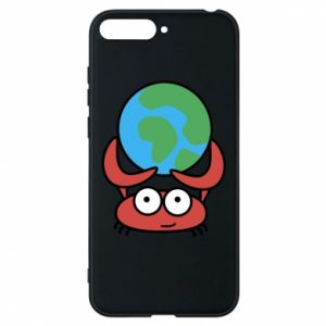 Phone case for Huawei Y6 2018 I hold the world!