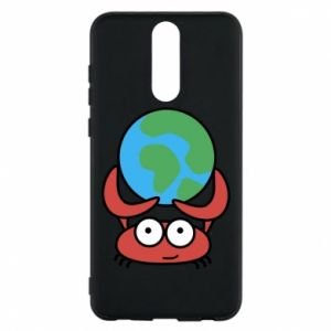 Phone case for Huawei Mate 10 Lite I hold the world!