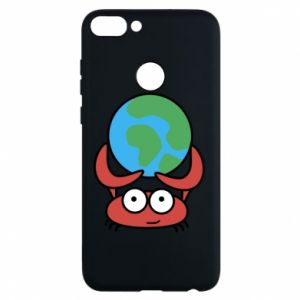 Phone case for Huawei P Smart I hold the world!