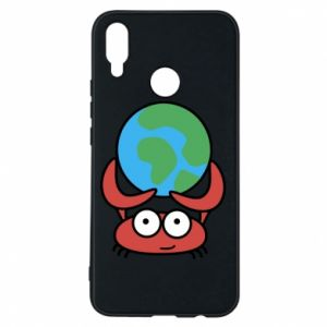 Phone case for Huawei P Smart Plus I hold the world!