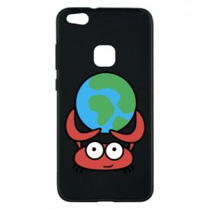 Phone case for Huawei P10 Lite I hold the world!