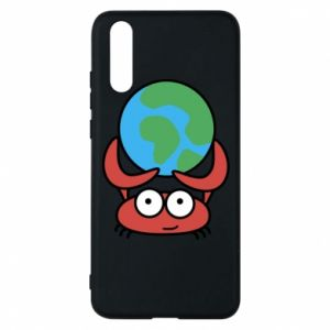 Phone case for Huawei P20 I hold the world!