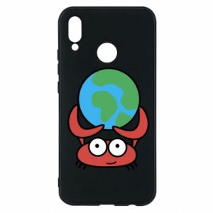 Phone case for Huawei P20 Lite I hold the world!