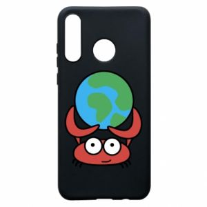 Phone case for Huawei P30 Lite I hold the world!
