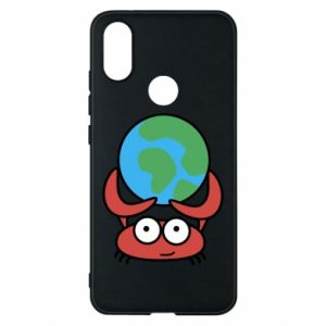 Phone case for Xiaomi Mi A2 I hold the world!