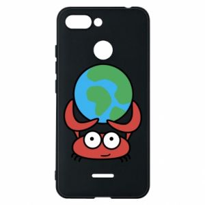Phone case for Xiaomi Redmi 6 I hold the world!
