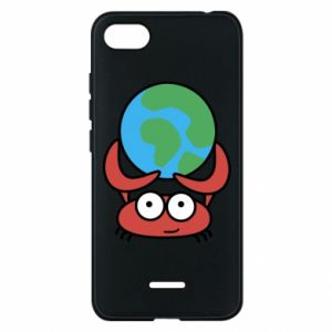 Phone case for Xiaomi Redmi 6A I hold the world!