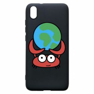 Phone case for Xiaomi Redmi 7A I hold the world!