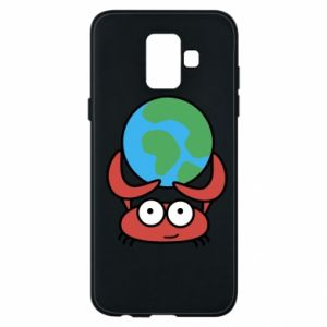Phone case for Samsung A6 2018 I hold the world!