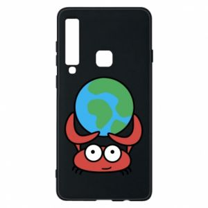 Phone case for Samsung A9 2018 I hold the world!