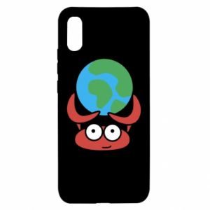 Xiaomi Redmi 9a Case I hold the world!