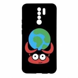 Xiaomi Redmi 9 Case I hold the world!