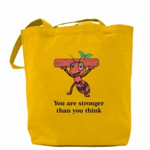 Torba You are stronger than you think - PrintSalon