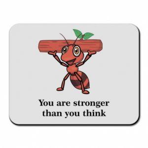 Podkładka pod mysz You are stronger than you think