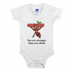 Body dla dzieci You are stronger than you think - PrintSalon