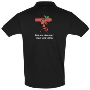 Koszulka Polo You are stronger than you think