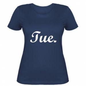 Damska koszulka Tuesday
