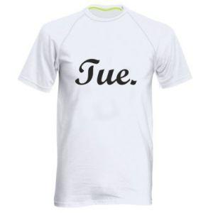 Męska koszulka sportowa Tuesday