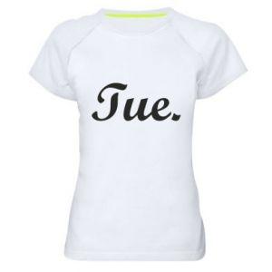 Damska koszulka sportowa Tuesday