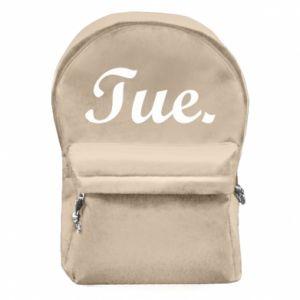 Plecak z przednią kieszenią Tuesday