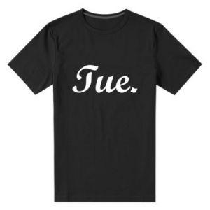 Męska premium koszulka Tuesday