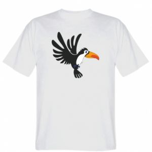 Koszulka Tukan ilustracja w locie
