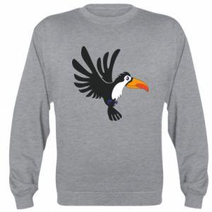 Bluza (raglan) Tukan ilustracja w locie